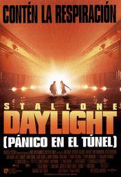 Cartel oficial en español de: Pánico en el túnel