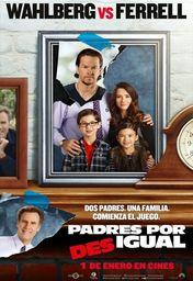 Cartel oficial en español de: Padres por desigual