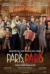 Cartel oficial en español de: París, París