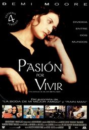 Cartel oficial en español de: Pasión por vivir