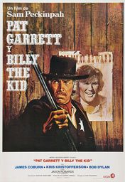 Cartel oficial en español de: Pat Garrett y Billy The Kid
