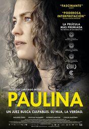 Cartel oficial en español de: Paulina
