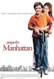 Cartel oficial en español de: Pequeño Manhattan