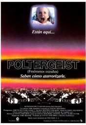 Cartel oficial en español de: Poltergeist (Fenómenos extraños)