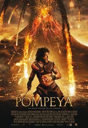 Cartel oficial en español de: Pompeya
