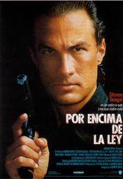 Cartel oficial en español de: Por encima de la ley