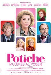 Cartel oficial en español de: Potiche, mujeres al poder