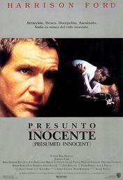 Cartel oficial en español de: Presunto inocente