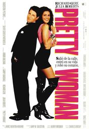 Cartel oficial en español de: Pretty Woman