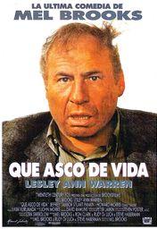 Cartel oficial en español de: Qué asco de vida