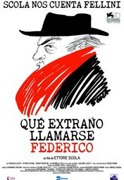 Cartel oficial en español de: Qué extraño llamarse Federico