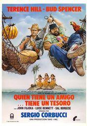 Cartel oficial en español de: Quien tiene un amigo... tiene un tesoro
