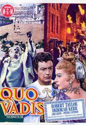 Cartel oficial en español de: Quo Vadis