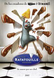 Cartel oficial en español de: Ratatouille