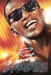 Cartel oficial en español de: Ray
