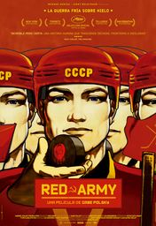 Cartel oficial en español de: Red Army