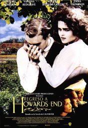 Cartel oficial en español de: Regreso a Howards End