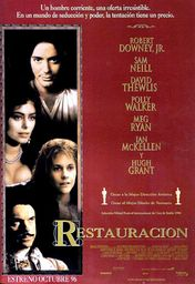 Cartel oficial en español de: Restauración