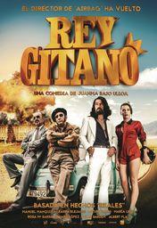 Cartel oficial en español de: Rey Gitano