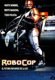 Cartel oficial en español de: Robocop