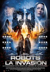 Cartel oficial en español de: Robots: La invasión