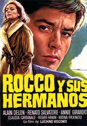 Cartel oficial en español de: Rocco y sus hermanos