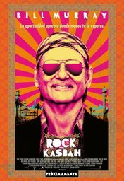 Cartel oficial en español de: Rock the Kasbah