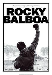 Cartel oficial en español de: Rocky Balboa
