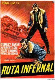 Cartel oficial en español de: Ruta infernal