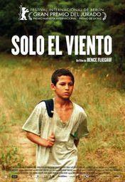 Cartel oficial en español de: Sólo el viento