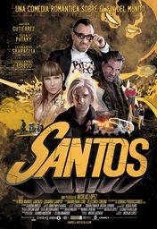 Cartel oficial en español de: Santos