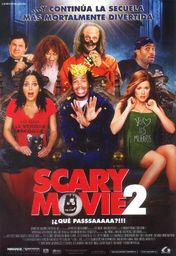Cartel oficial en español de: Scary Movie 2