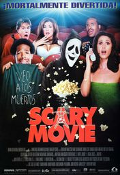 Cartel oficial en español de: Scary Movie