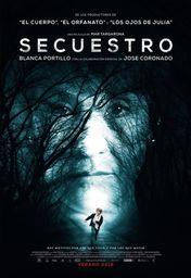 Cartel oficial en español de: Secuestro