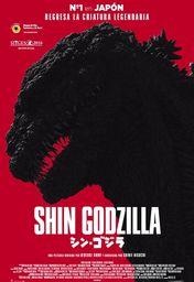 Cartel oficial en español de: Shin Godzilla