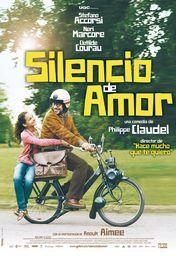 Cartel oficial en español de: Silencio de amor