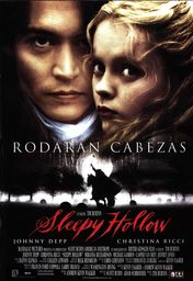 Cartel oficial en español de: Sleepy Hollow