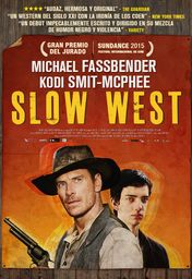Cartel oficial en español de: Slow West