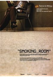 Cartel oficial en español de: Smoking Room