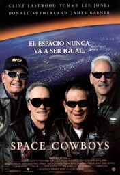 Cartel oficial en español de: Space Cowboys