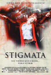 Cartel oficial en español de: Stigmata