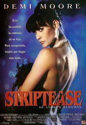 Cartel oficial en español de: Striptease