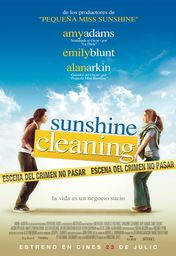 Cartel oficial en español de: Sunshine Cleaning