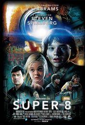 Cartel oficial en español de: Super 8