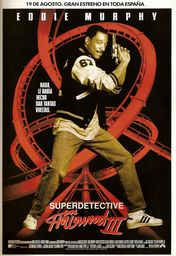 Cartel oficial en español de: Superdetective en Hollywood III