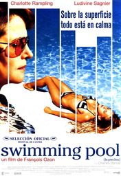 Cartel oficial en español de: Swimming Pool (La piscina)