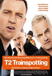 Cartel oficial en español de: T2: Trainspotting