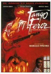 Cartel oficial en español de: Tango feroz: la leyenda de Tanguito