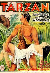 Cartel oficial en español de: Tarzán de los monos (1932)