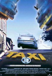 Cartel oficial en español de: Taxi 3